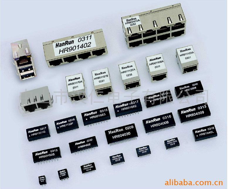 网络变压器,rj45内含网络变压器