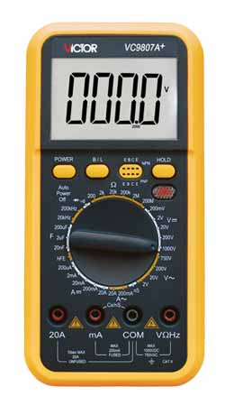 vc9807a+数字万用表