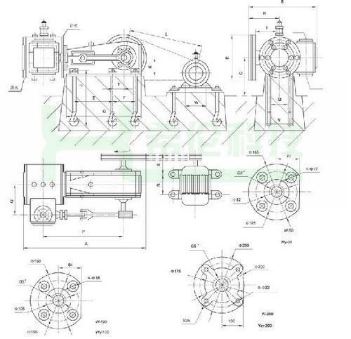 电动产品手绘图