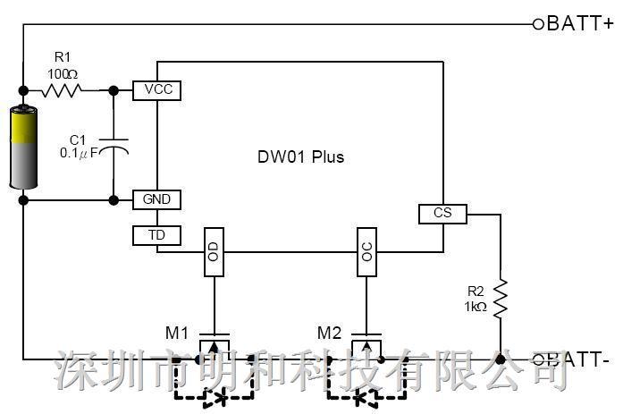 性价比超高!锂电保护ic DW01+ DW01+ 特 点 低工作电流 过充检测4.3V 过充释放4.05V 过放检测2.5V 过放释放3.0V 过流检测0.15V 短路电流检测1.0V 充电器检测 过电流保护复位电阻; 封装SOT23-6 DW01+ 推 荐 应 用 锂电池保护板、锂电供电设备、太阳能LED灯具 DW01+ 典 型 电 路