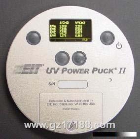 UV能量计EIT Power Puck照度计为四通道(4个UV波段)UV照度计