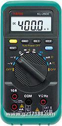多功能数字万用表KU-2600