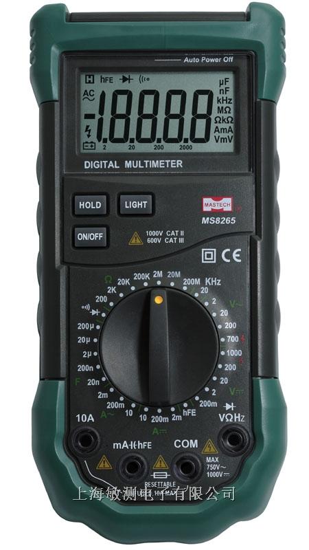 简单介绍 41/2全保护电路 数字多用表