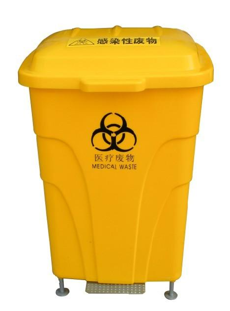 70l脚踏垃圾桶|医用污物桶|医疗脚踏垃圾桶|医疗污物