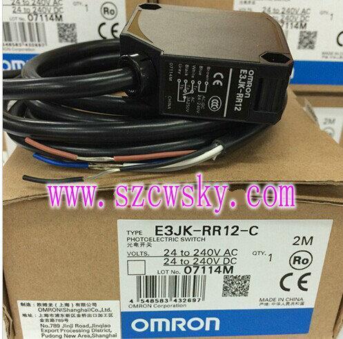 日本欧姆龙e3jk-rr12-c光电传感器 e3jk-rr12-c