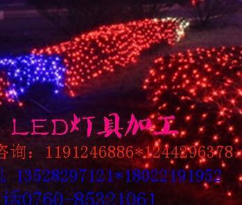 LED網燈 天羅地網景觀裝飾LED掛件網燈