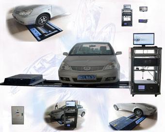 机动车简易工况法排放检测站 汽车尾气检测仪 底盘测功机 sv-asm型