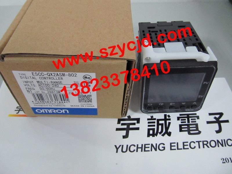 日本欧姆龙omron继电器e5cc-qx2asm-802