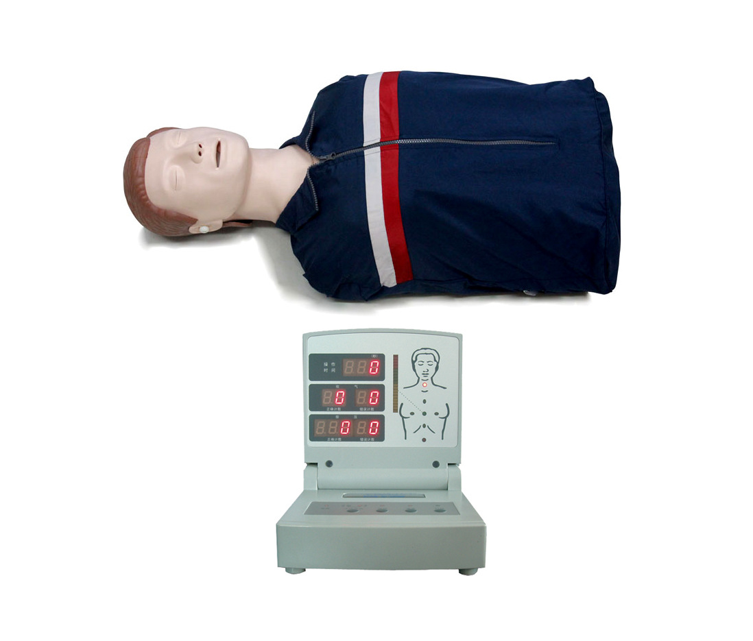 半身電腦心肺復蘇模擬人