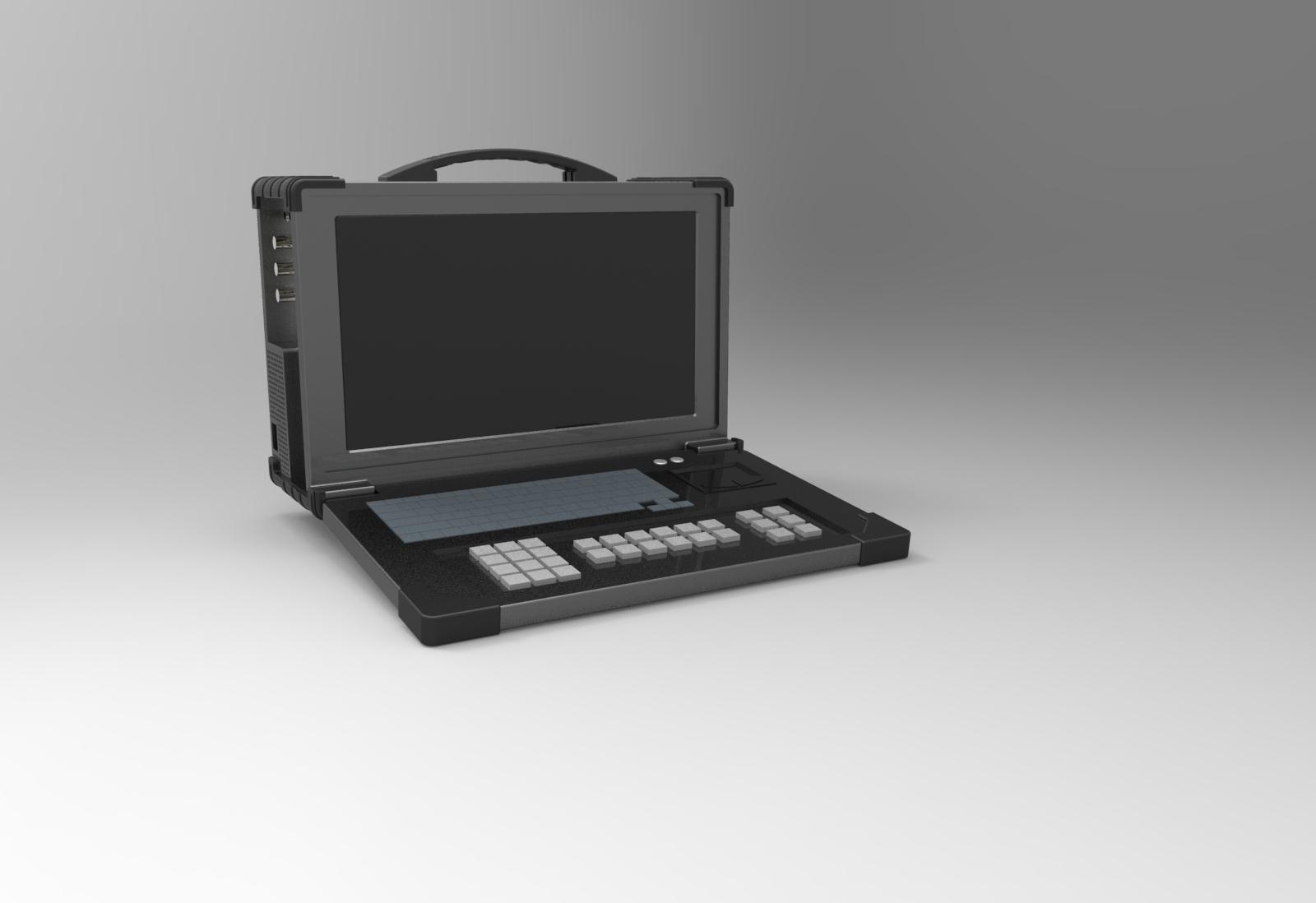 天拓下翻便携式工控机:TEC-4517S–E5