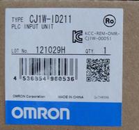 日本歐姆龍OMRON通信模块CJ1W-ID211 CJ1W-ID211