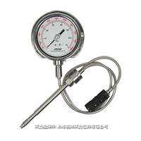 变送输出温压双测压力表
