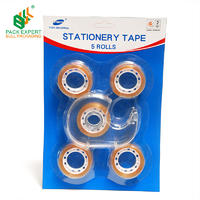 Europe bull  student use stationery tape